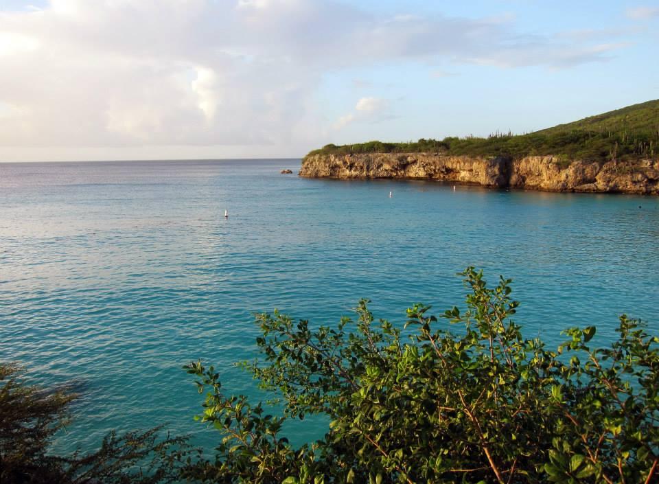 Heavenly blue ocean
