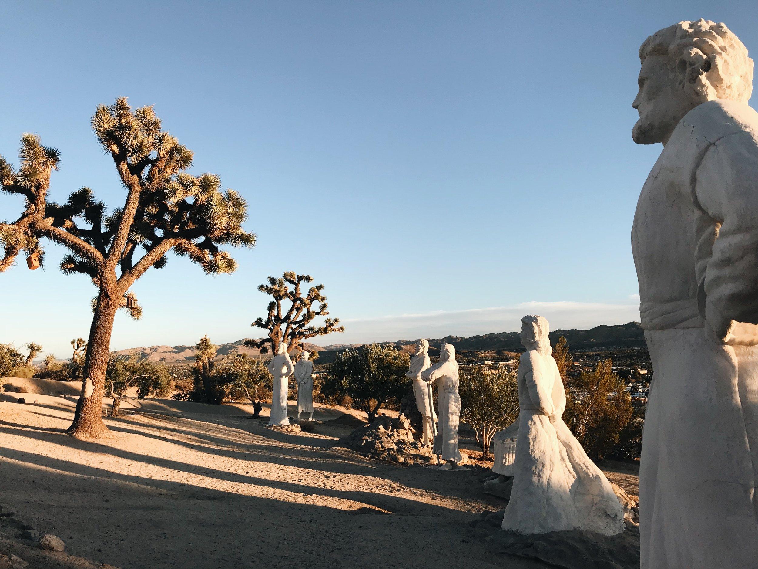 Desert Christ Park Apostles