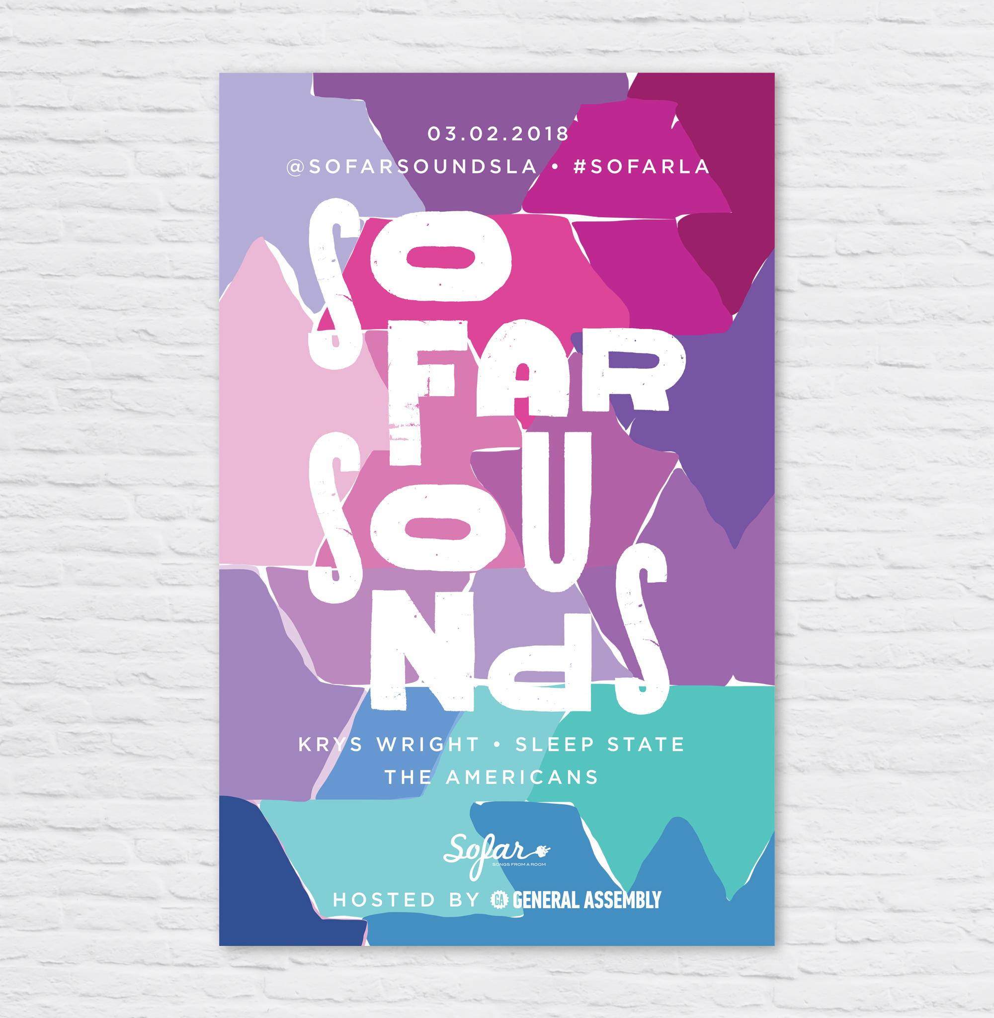 SoFar Sounds Poster Design: 03.02 — Chrissi Hernandez