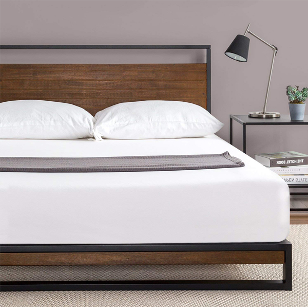 Wood Platform Bed, Prices vary based on size