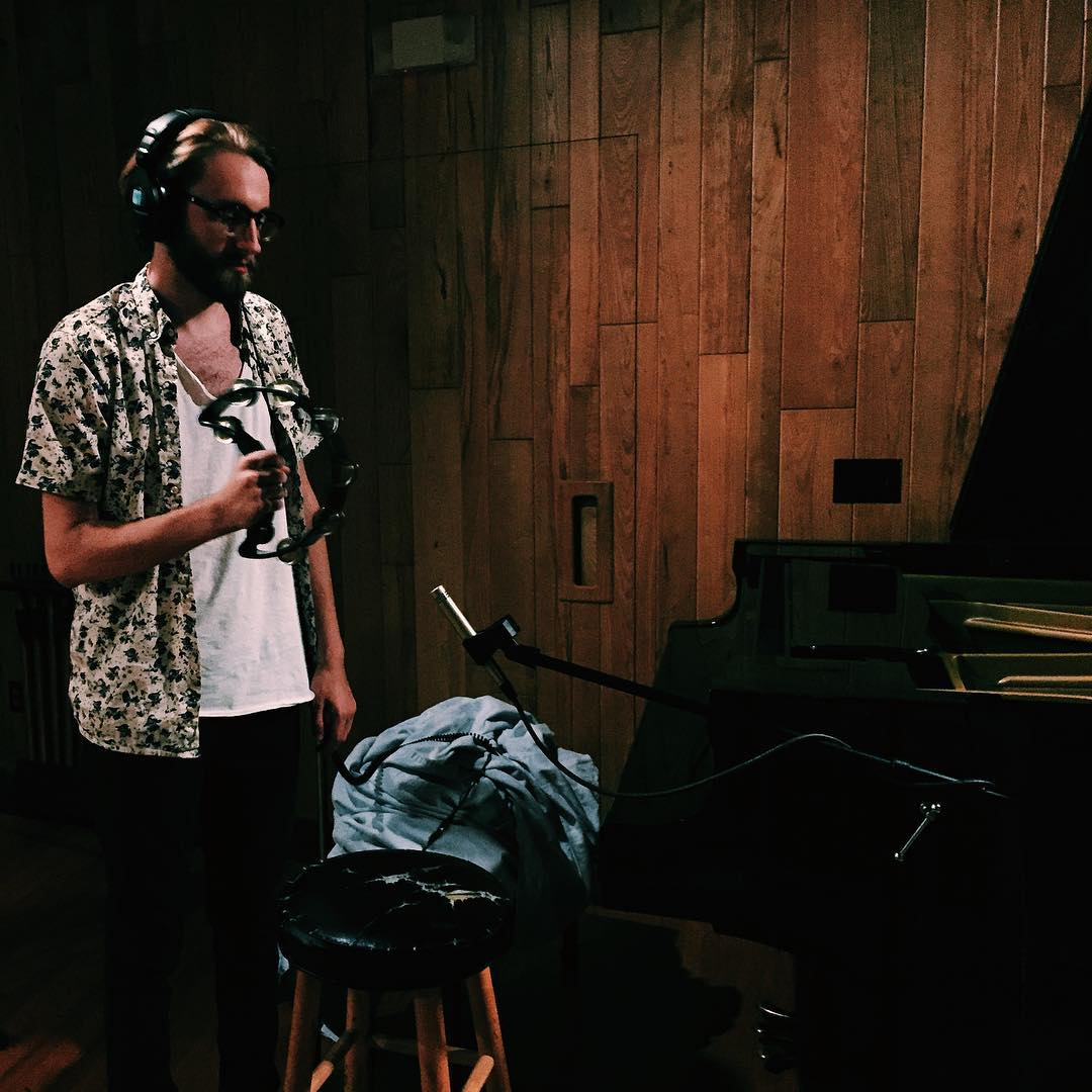 I wasn't able to capture a photo of him drumming, but I can attribute so much of this week's success to Joel. I'm incredibly grateful for his creativity and inspiration.  (at Big Fish Recording Studio)