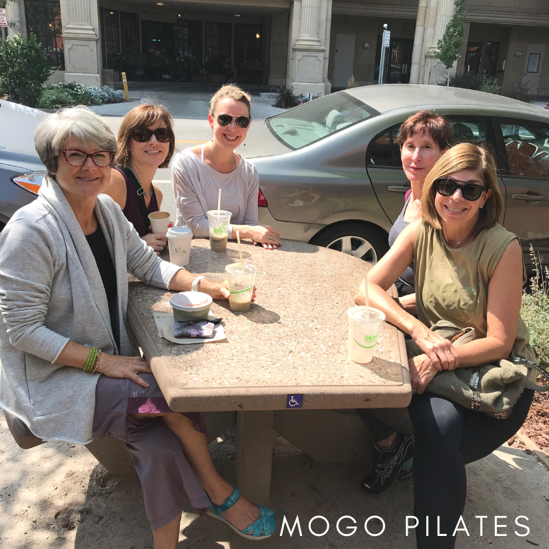 Reflecting on the weekend with friends, coffee and sunshine!