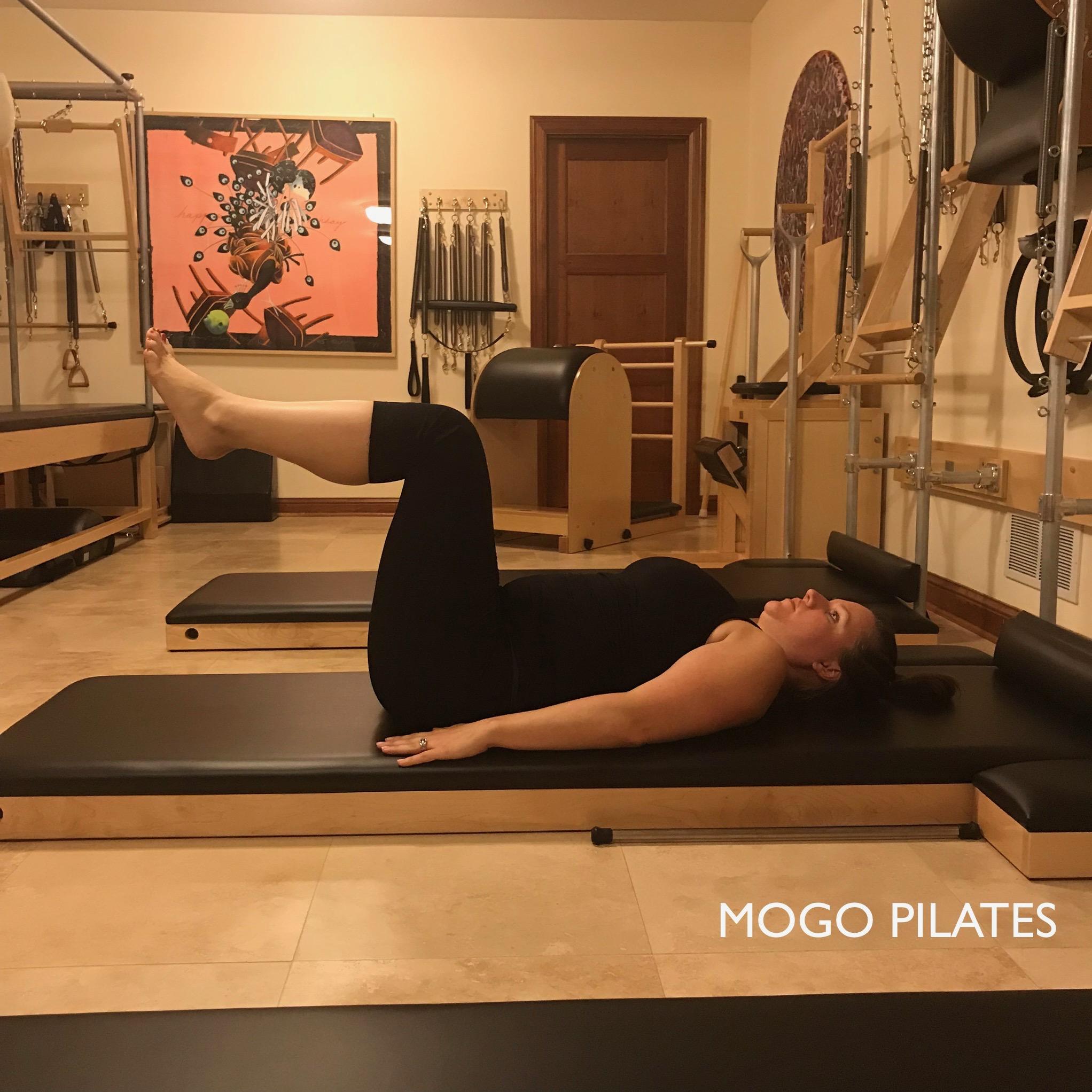 Pilates prep exercise - Knee Fold