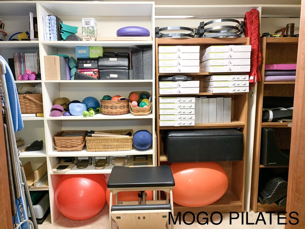 Every object has a home, making for a clean and well organized space for all of our equipment!