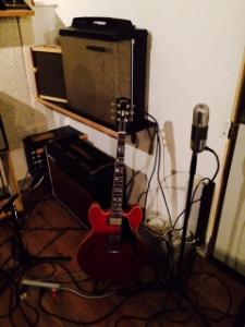 ..immer noch im Studio
