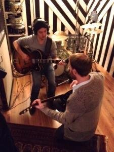Im Studio mit Ken Ebizuka