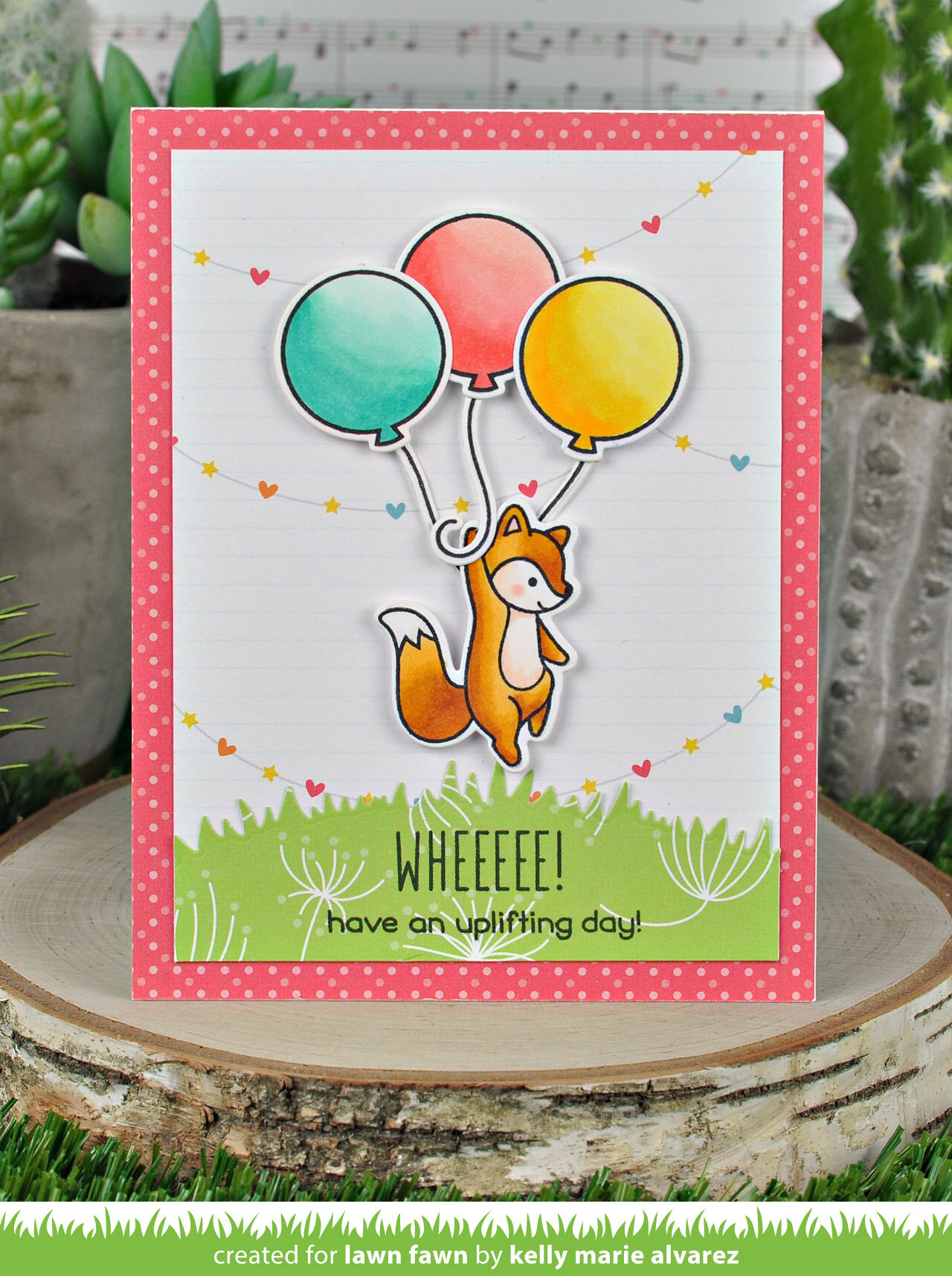 Lawn Fawn Really High Coordinating Die Set LF2216