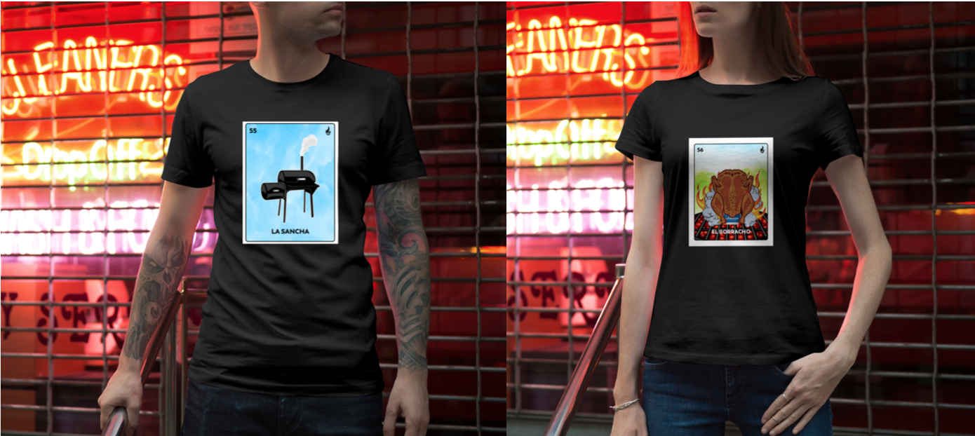 Check out our new apparel!   WE SHIP!   Order  here