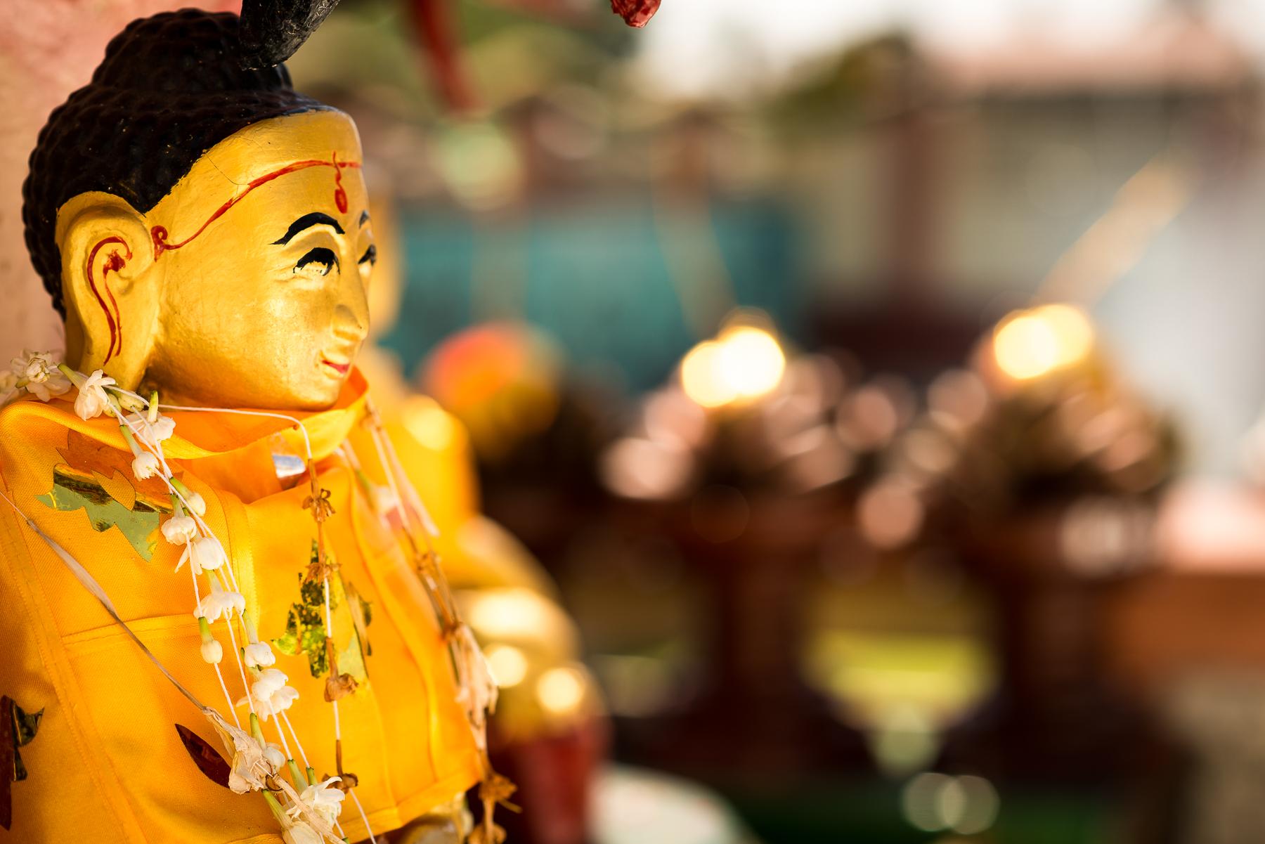 Little Buddha. Yangon, Myanmar