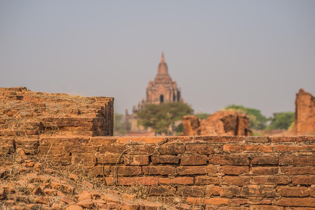 Temple. Bagan, Myanmar