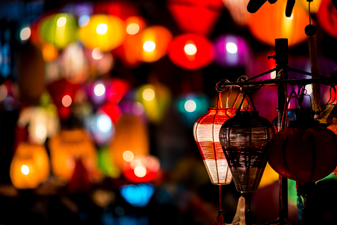 Lanterns for sale.  Old Town Hoi An, Vietnam