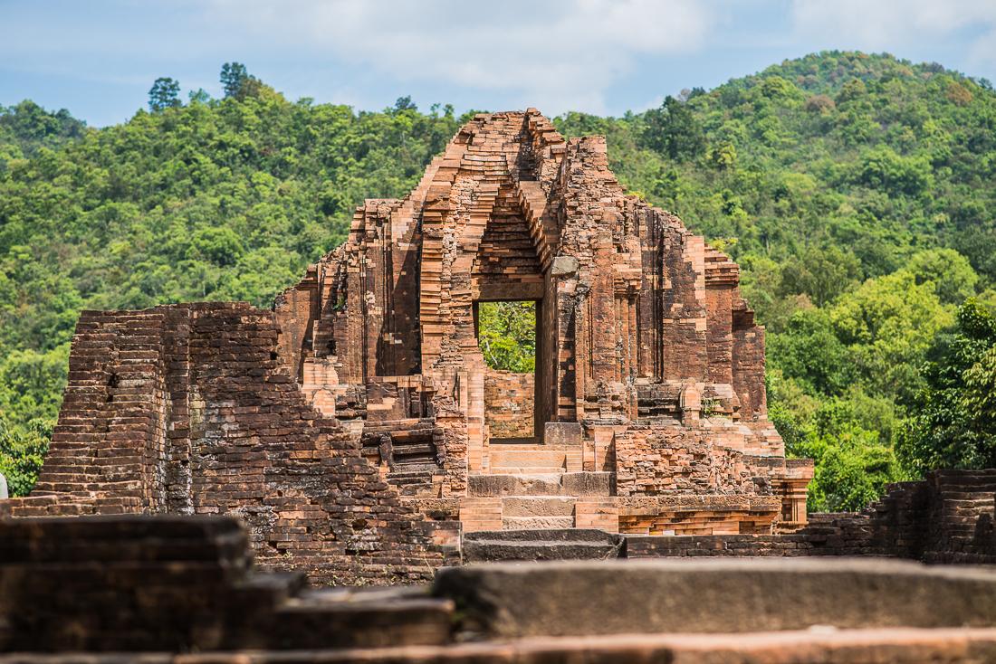 My Son temples. Hoi An, Vietnam