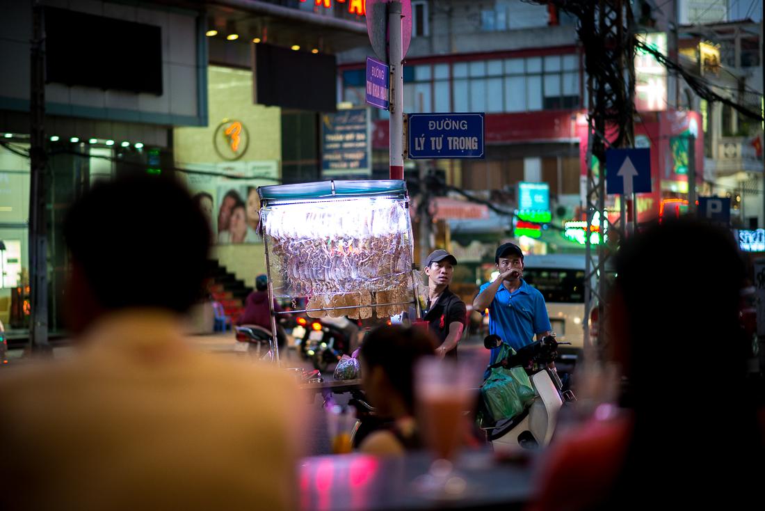 Night Scene. Ho Chi Minh City, Vietnam