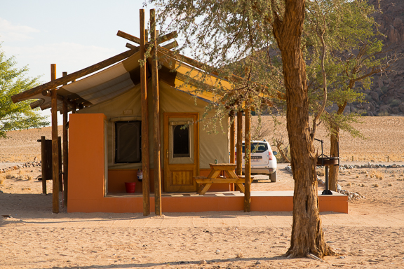 My home for the next 2 nights. Desert camp.