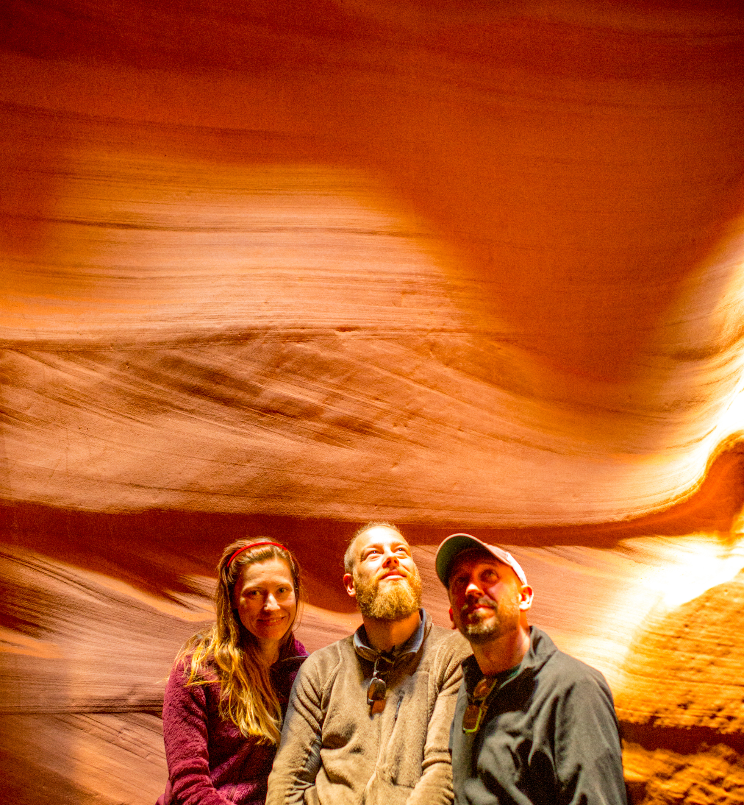 The Team At Antelope Canyon!!