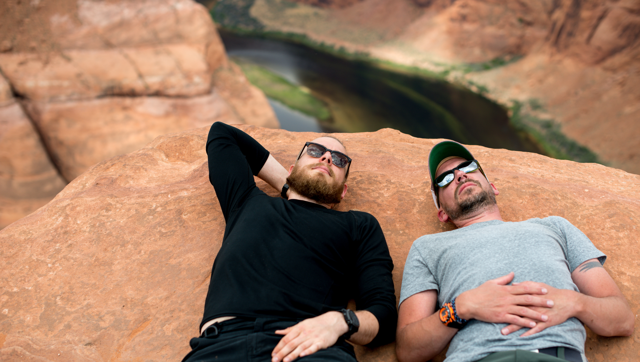 Horseshoe Bend!  Ben and Me...