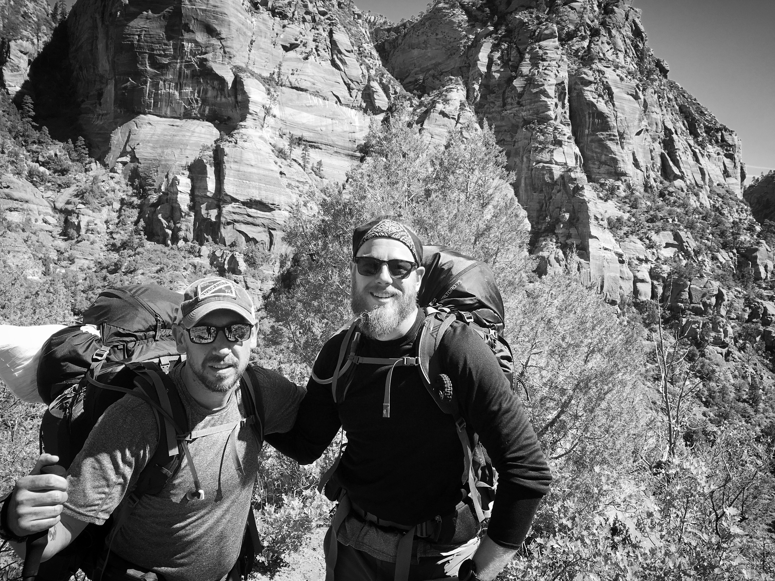 Back Country...Day 2...Zion National Park...What An Amazing Trip...Great Friends...