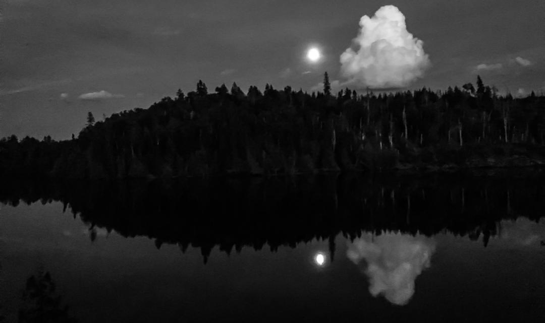 Full Moon In The BWCA...Crooked Lake