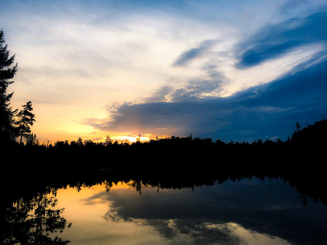 Sunrise On Crooked Lake...BWCA
