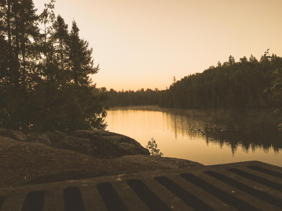 Sunrise On Crooked Lake..BWCA