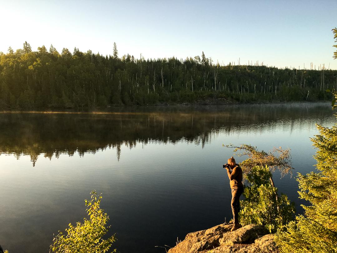 Sunrise Photos...Crooked Lake...BWCA