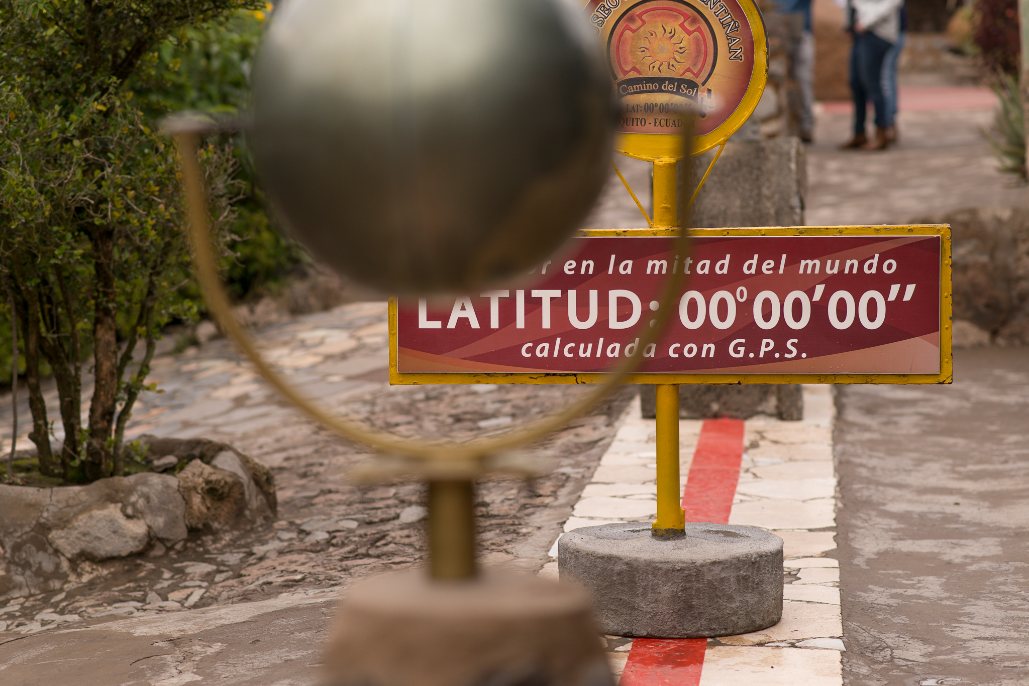 The true equator...