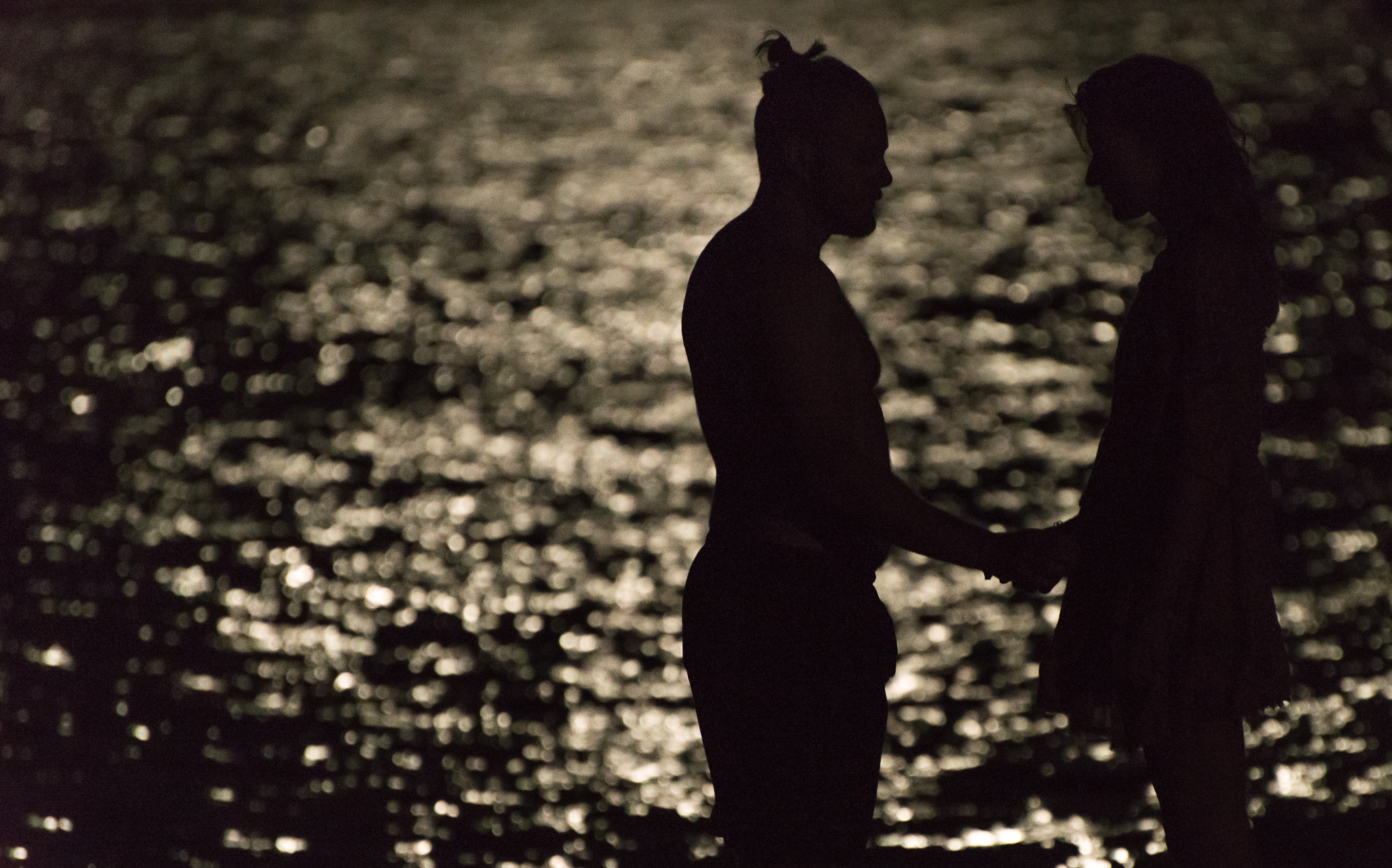 Ben And Kasha In The Moonlight...