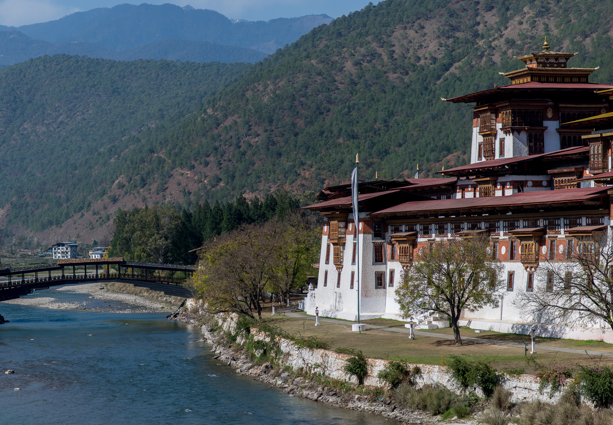 The Dzong in Punakha