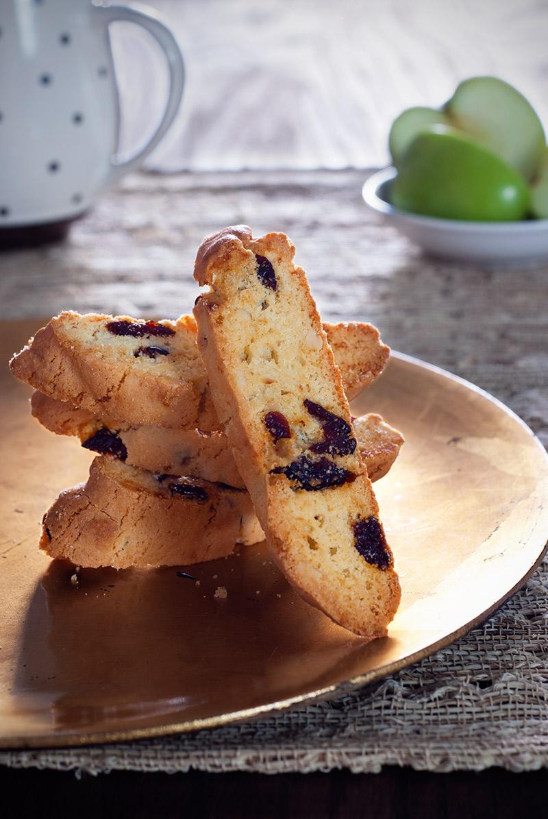 Almond & Dried Cherry Biscotti | Bread & Breadstrokes