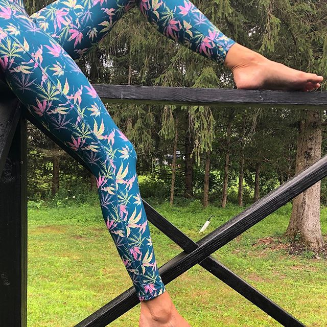 Our passion project!  Please follow @maryjaneswim here on Instagram if you don't. We are almost at 10k followers!! #cbd #sweeniemanufacturing #leggings