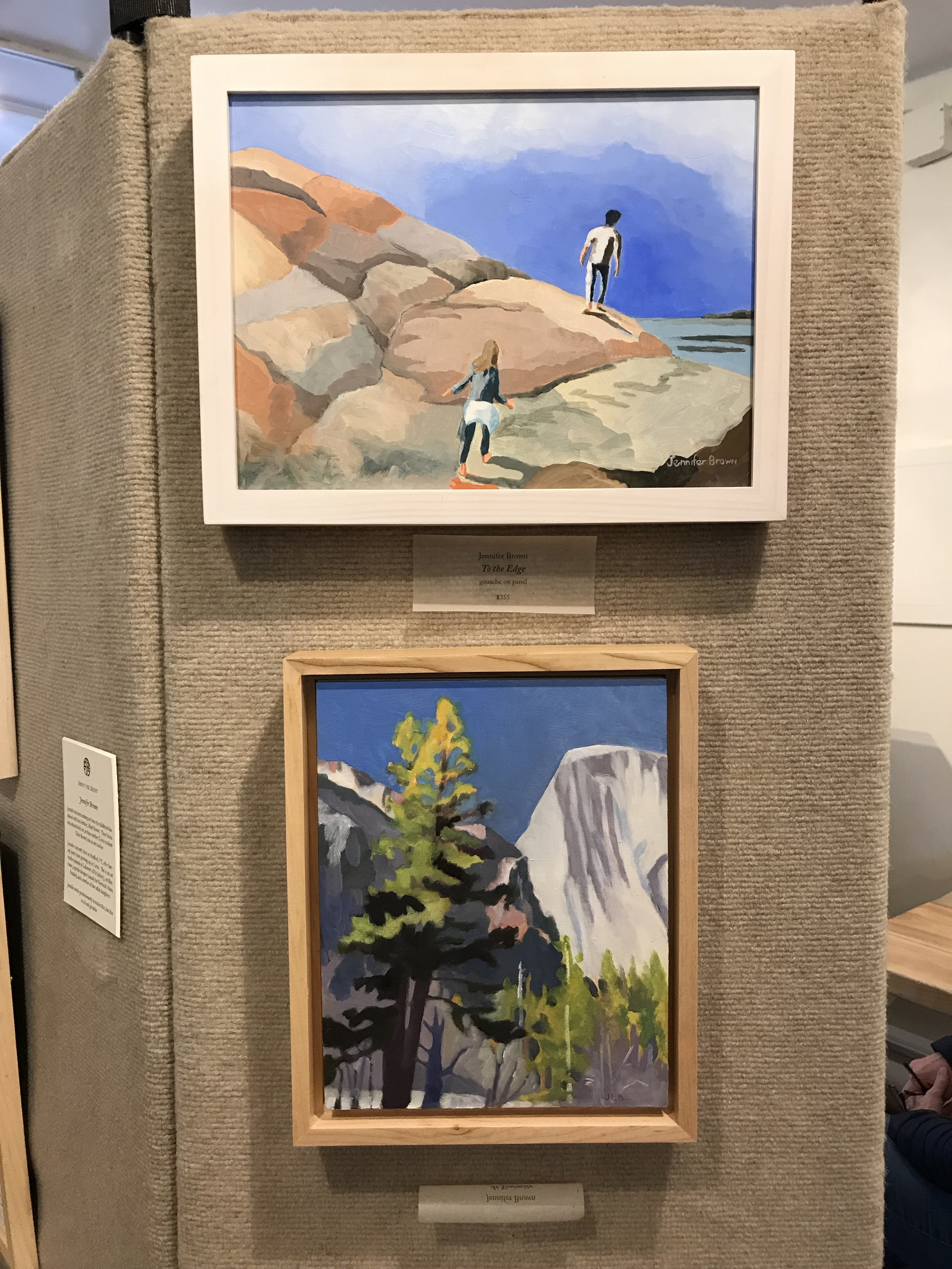 Exhibits and Galleries - See my work on exhibit at Matt Brown Fine Arts in Lyme NH. Open on Fridays and Saturdays from 11-5. 1 Main Street, Lyme, NH.