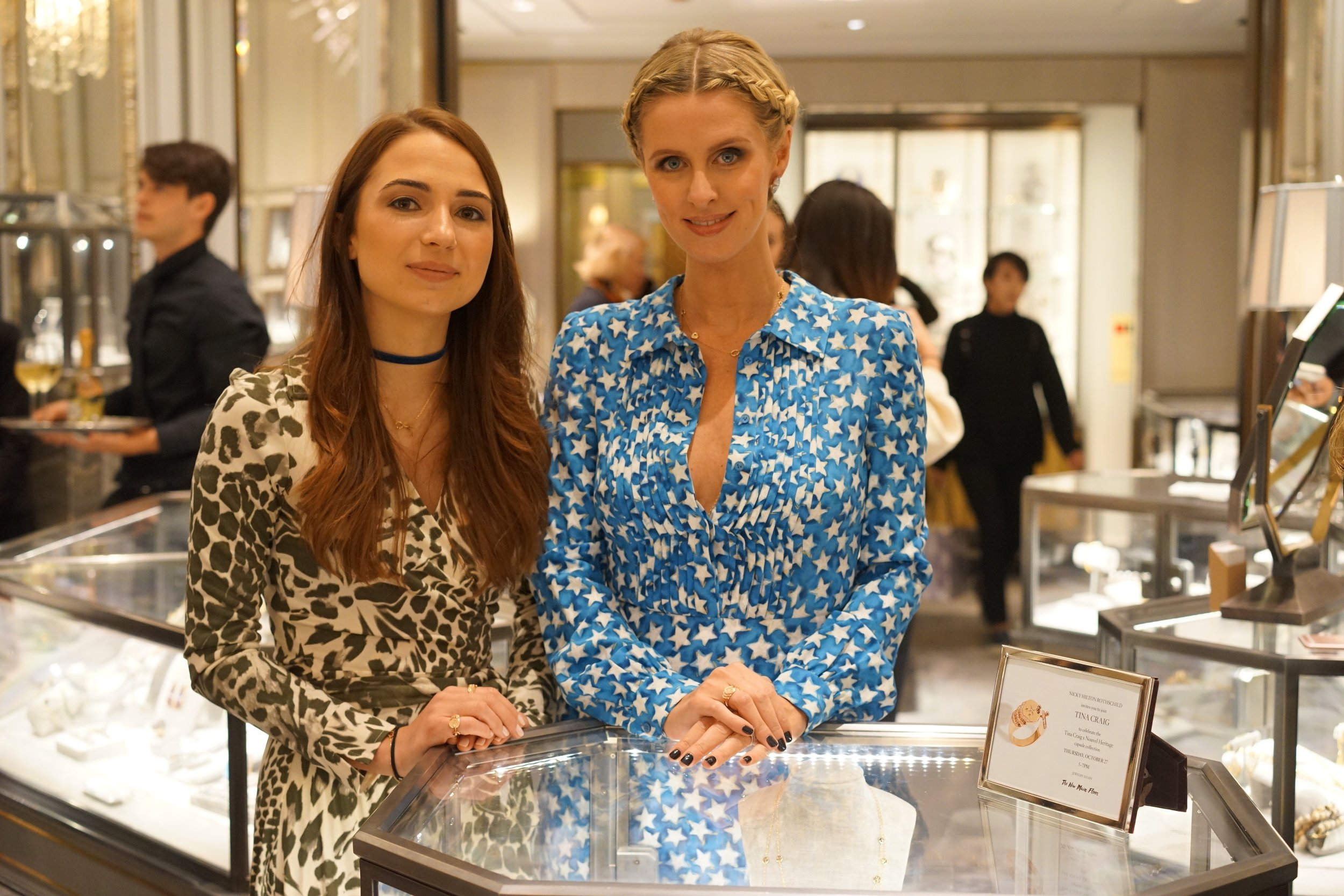 Camille Parruitte and Nicky Hilton Rothschild