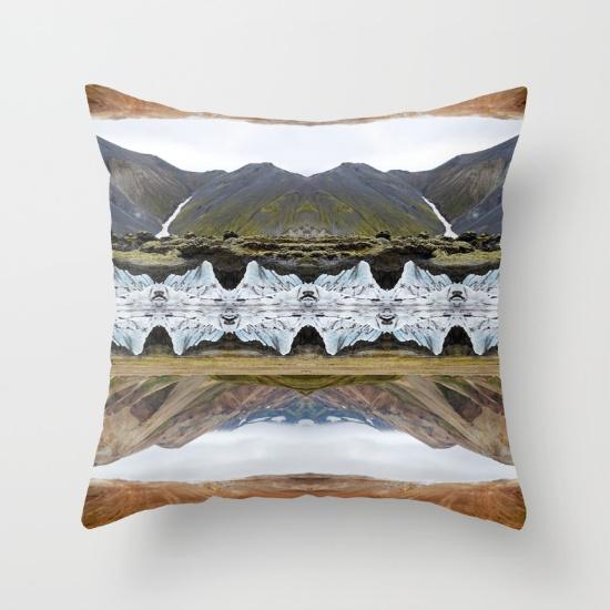 LAND OF CONTRAST throw pillow