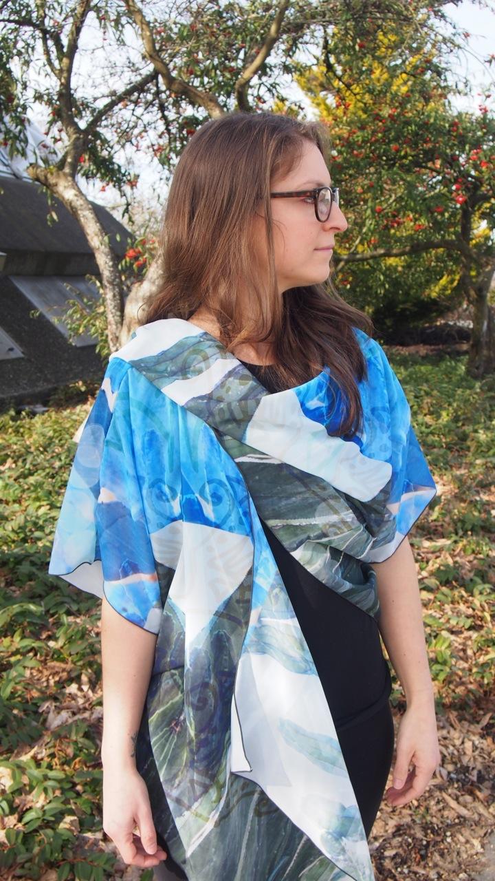 CACTI draped kimono