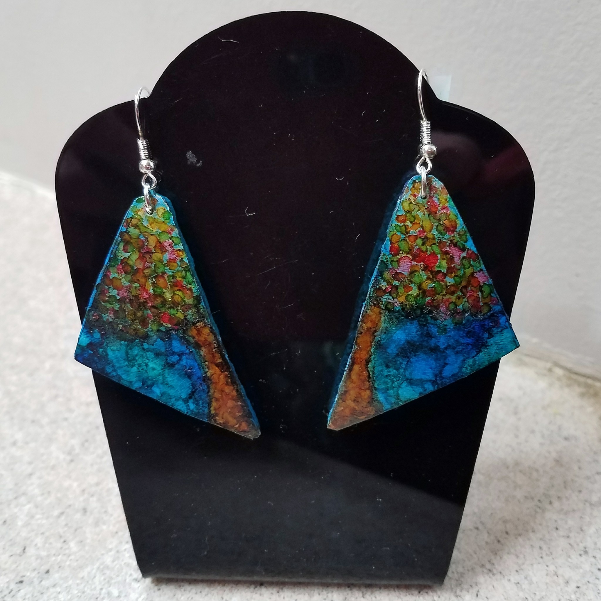 handpainted Alcohol Ink gourd jewelry.jpg