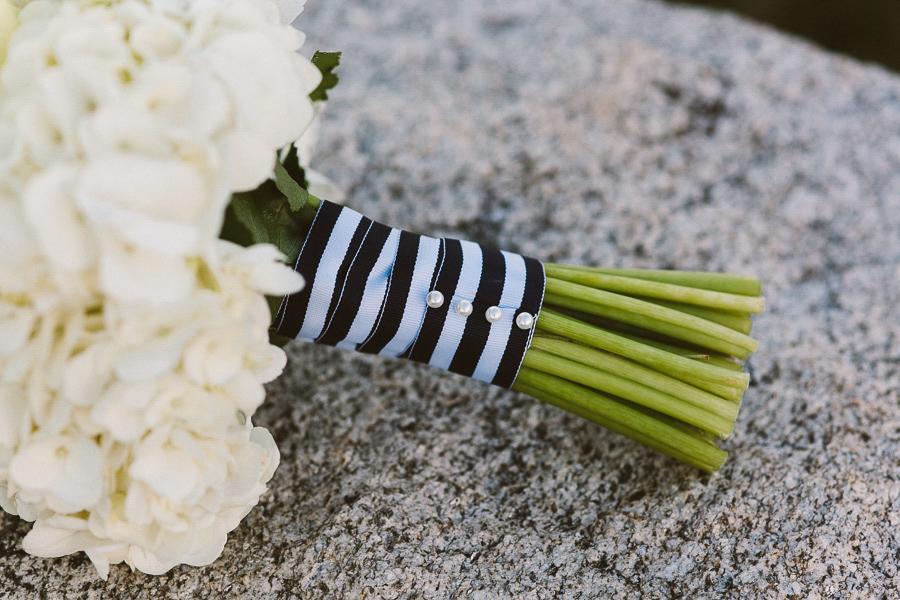 Nautical Wedding Bouquet | Salem Waterfront Hotel Wedding | Kelly Burgess Photography