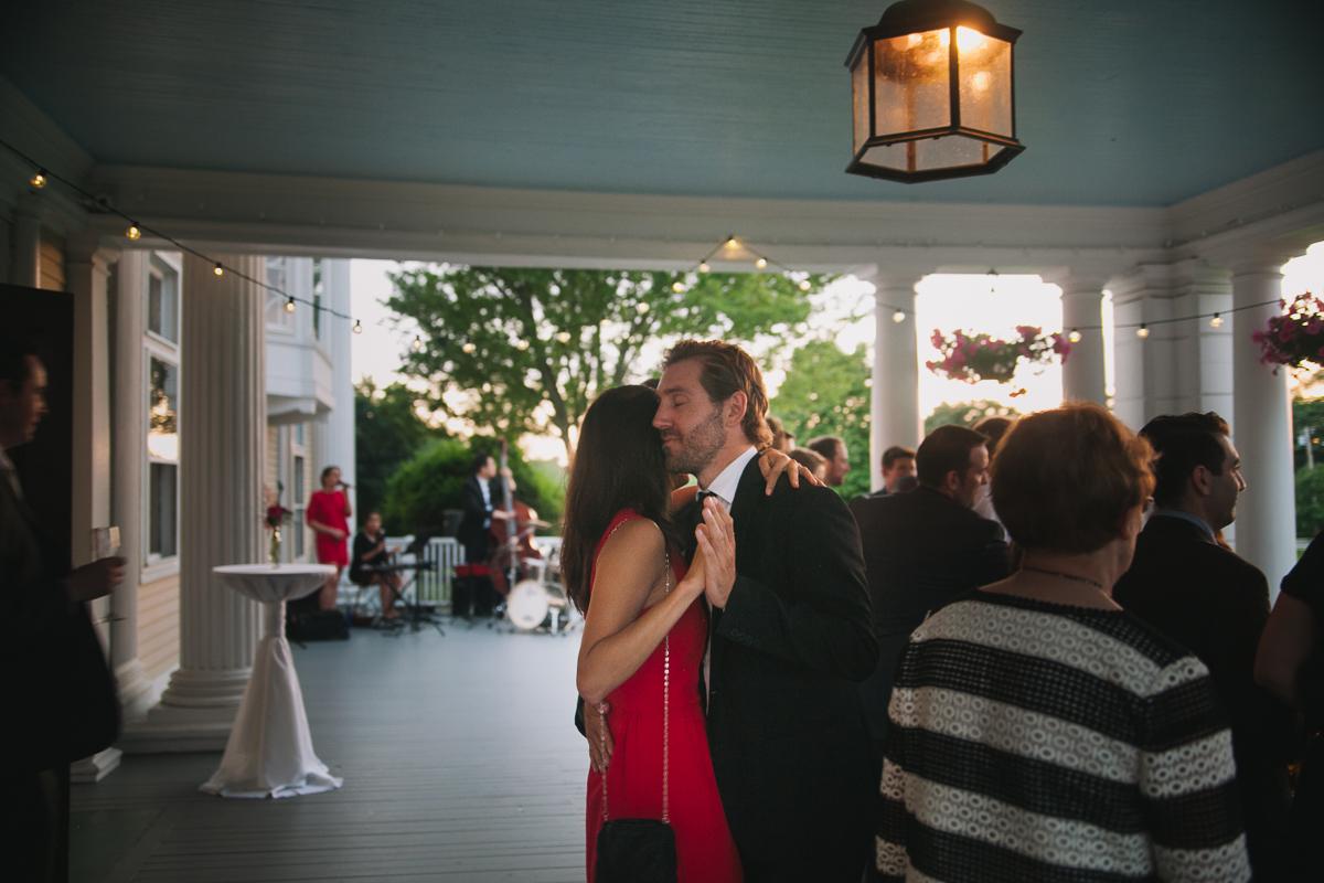 Couple Dancing at Wedding Reception | Endicott Estate - Dedham, MA. | Kelly Burgess Photography