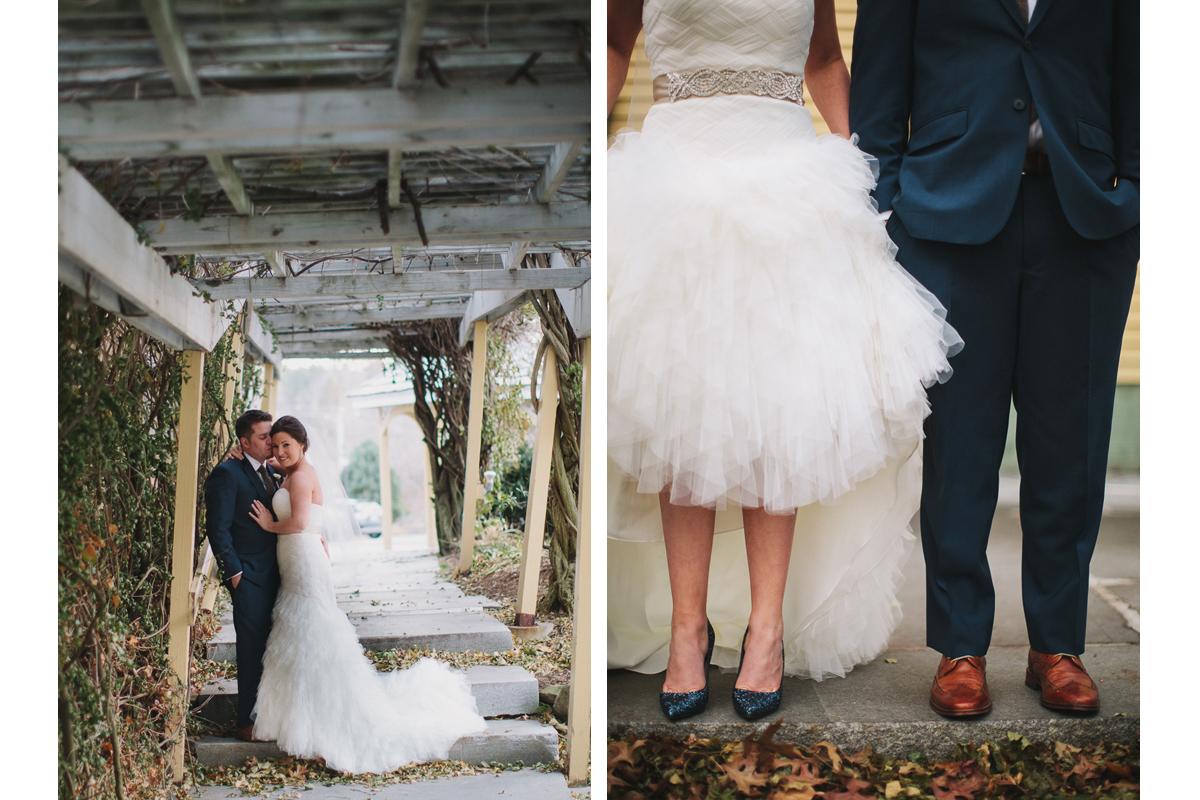 Bride and Groom Portraits | Bedford Village Inn Wedding - Bedford, NH. | Kelly Burgess Photography