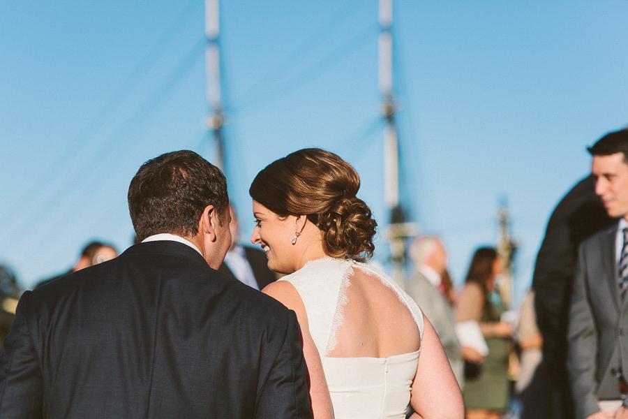 Bride and Groom | Salem Waterfront Hotel Wedding | Kelly Burgess Photography