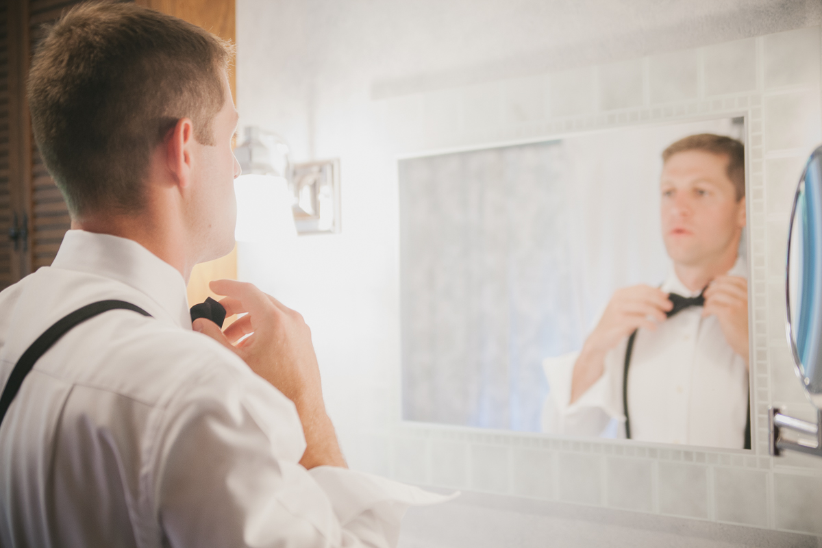 Groom Getting Ready | Kelly Burgess Photography