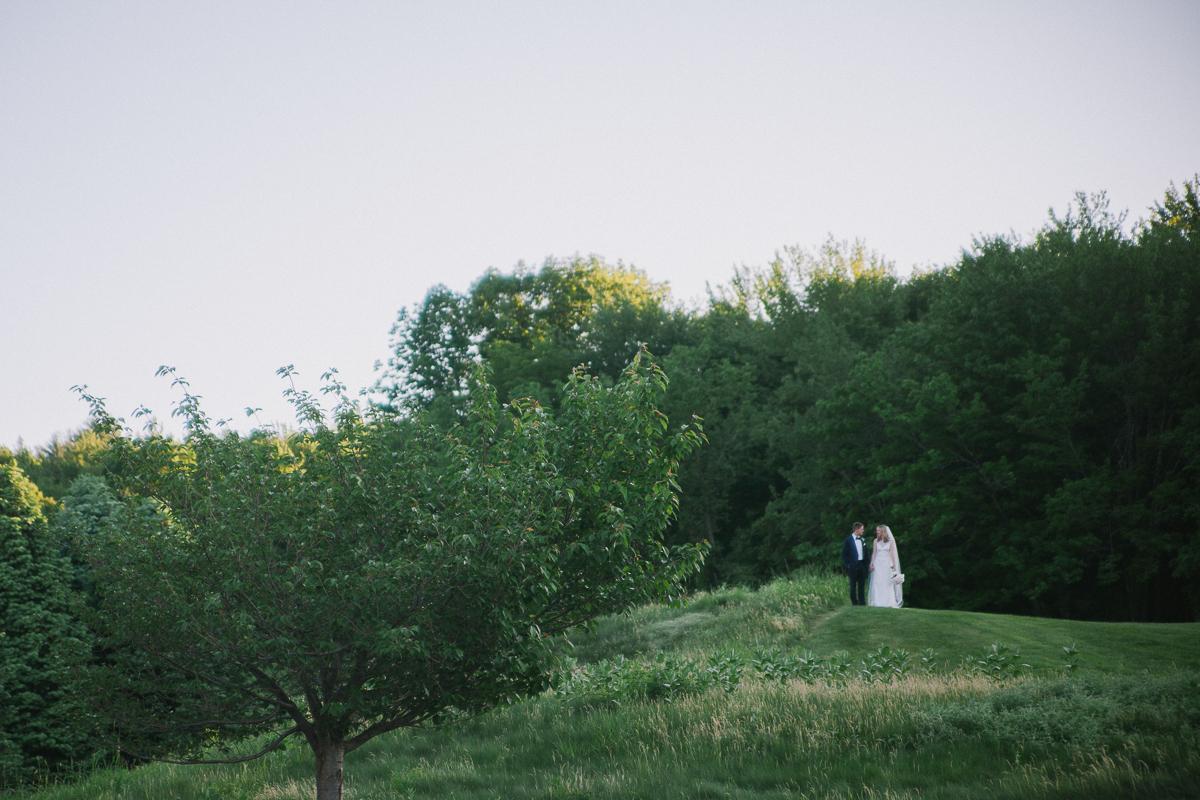 Bride and Groom Portrait | Ranch Golf Club - Southwick, MA | Kelly Burgess Photography