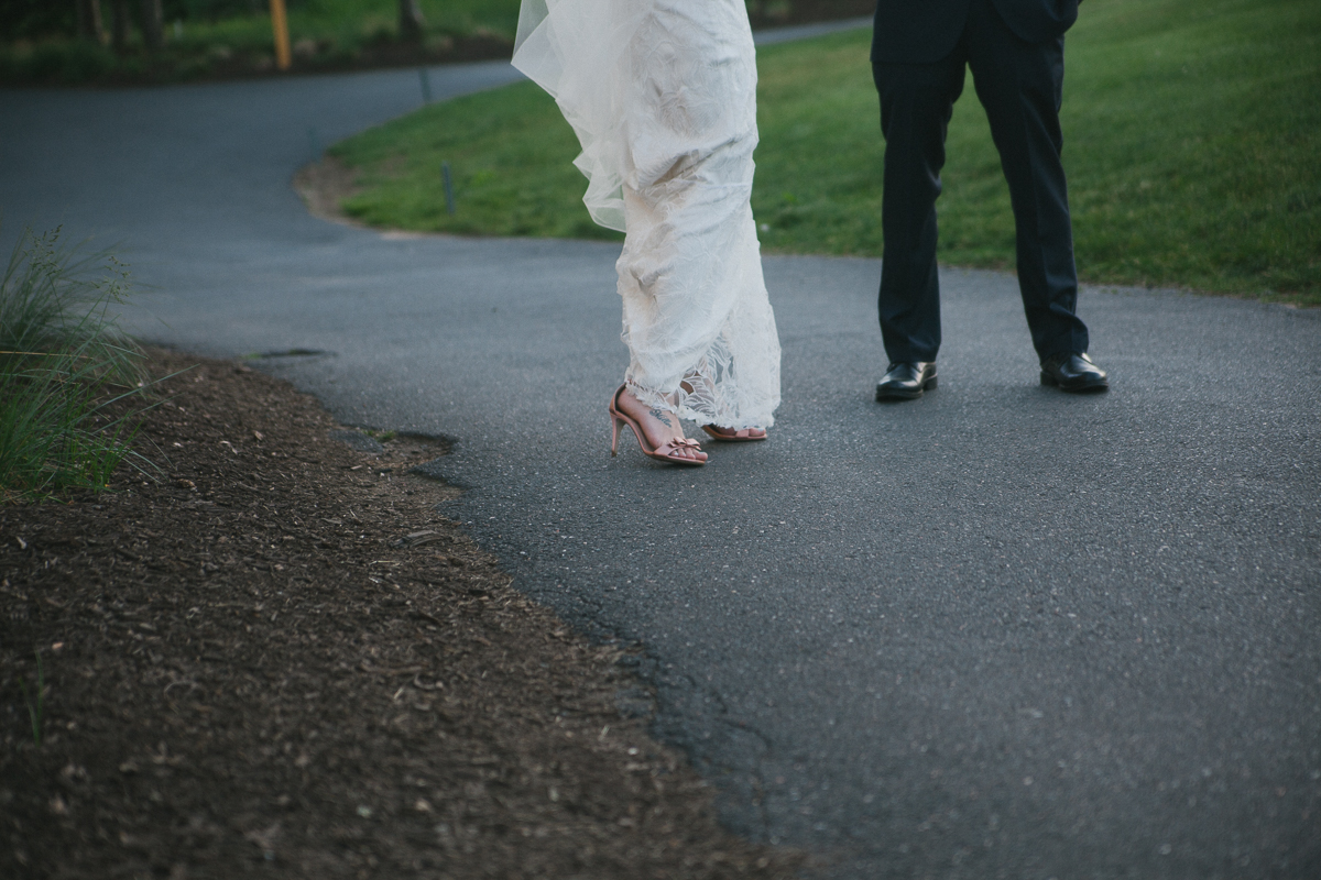 Bride and Groom Wedding Shoes | Ranch Golf Club Wedding - Southwick, MA. | Kelly Burgess Photography