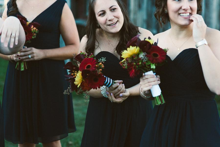 Bridesmaids | Salem Waterfront Hotel Wedding | Kelly Burgess Photography