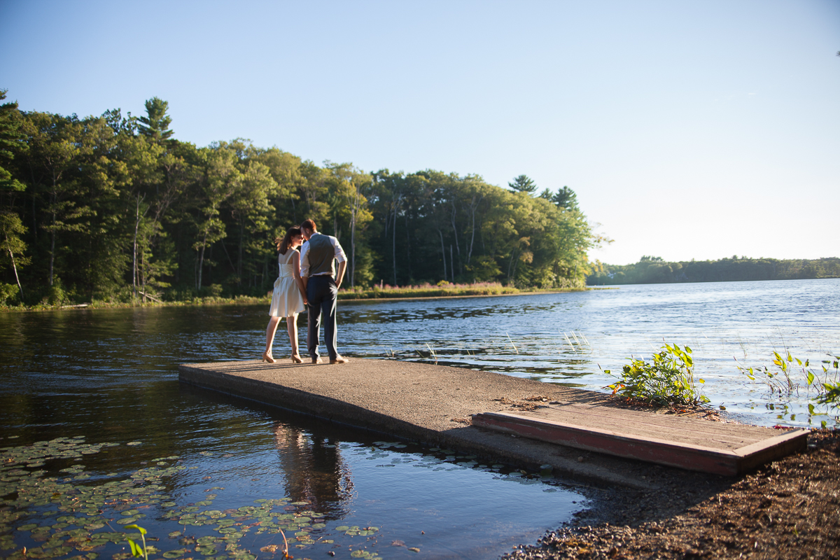 Rustic Camp Elopement   Camp Denison - Georgetown, MA.   Kelly Burgess Photography