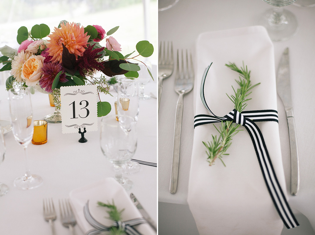 Floral and Table Details | Codman Estate Wedding - Lincoln, MA. | Kelly Burgess Photography