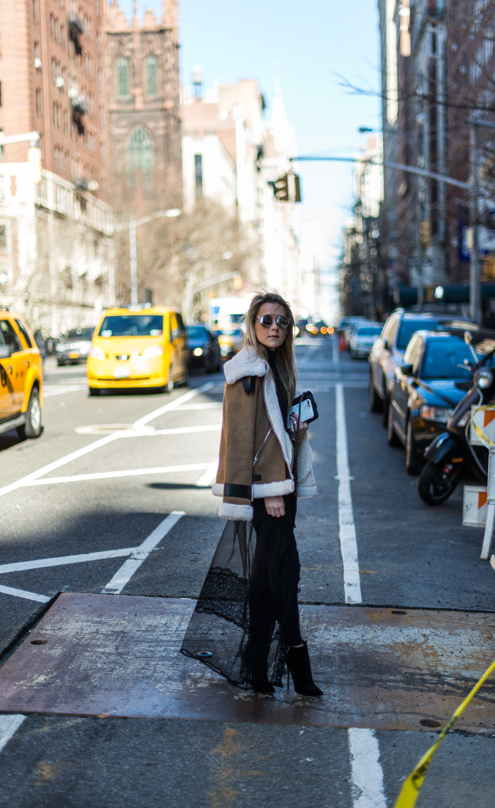 sheer_Skirt_shearling_coat_nyc_blogger