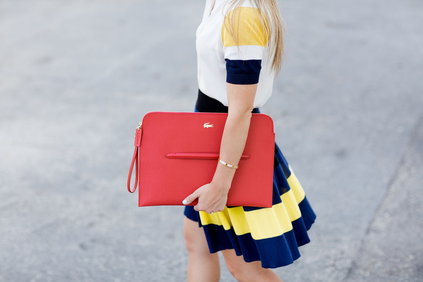 Lacoste_clutch_Red