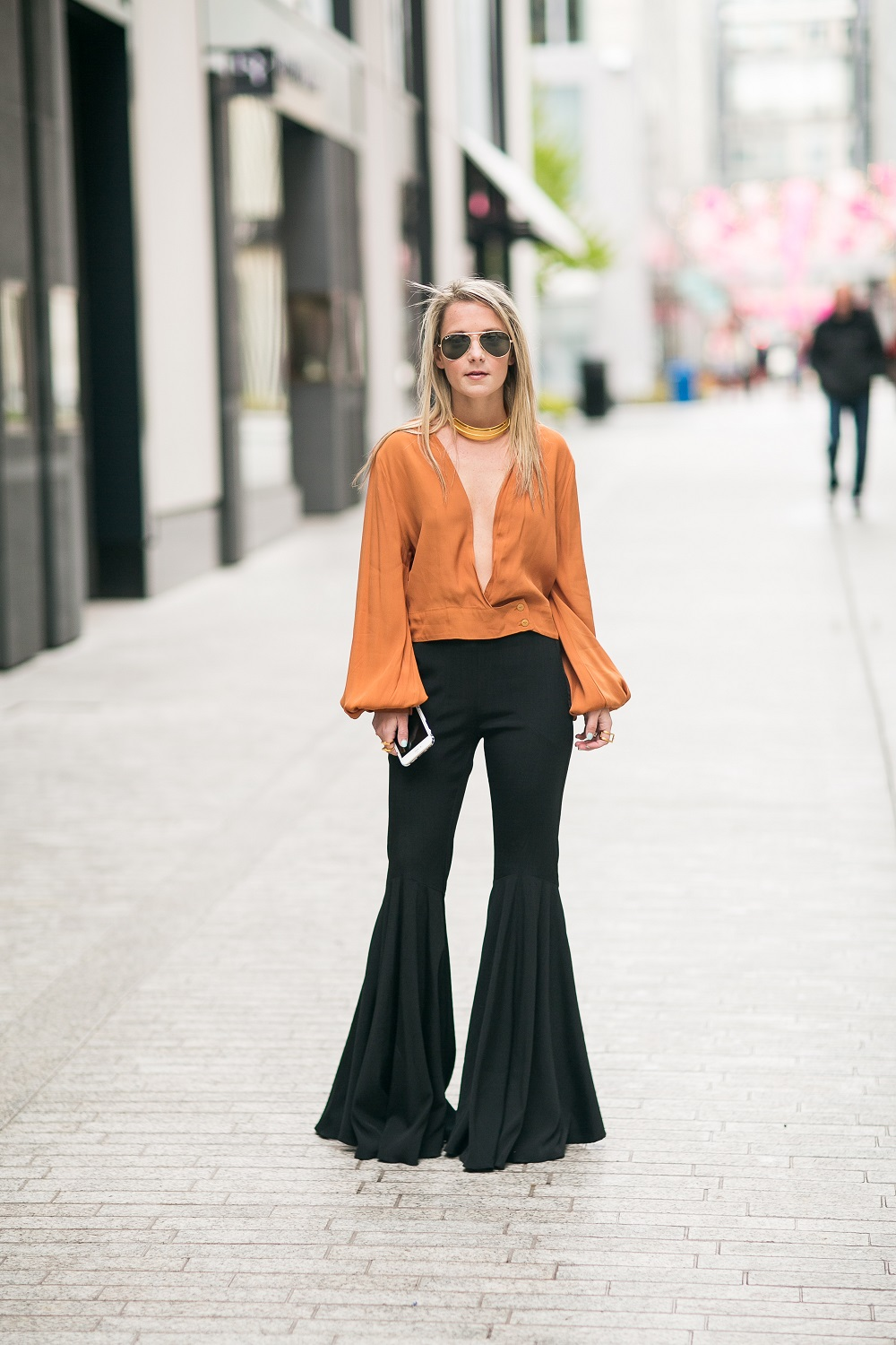 flared_pants_bell_Sleeve_Top