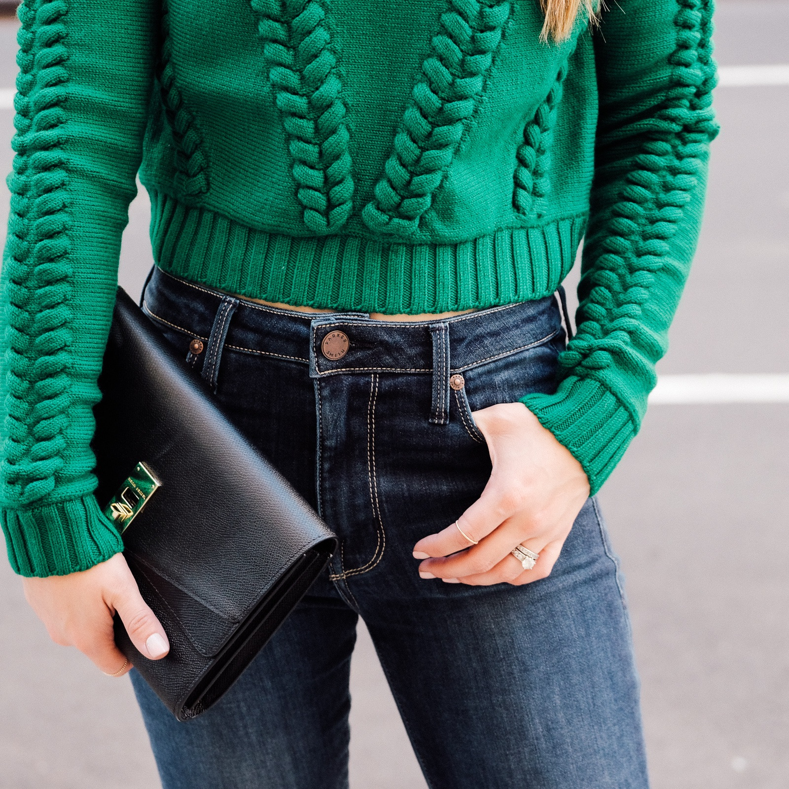 milly_green_Sweater