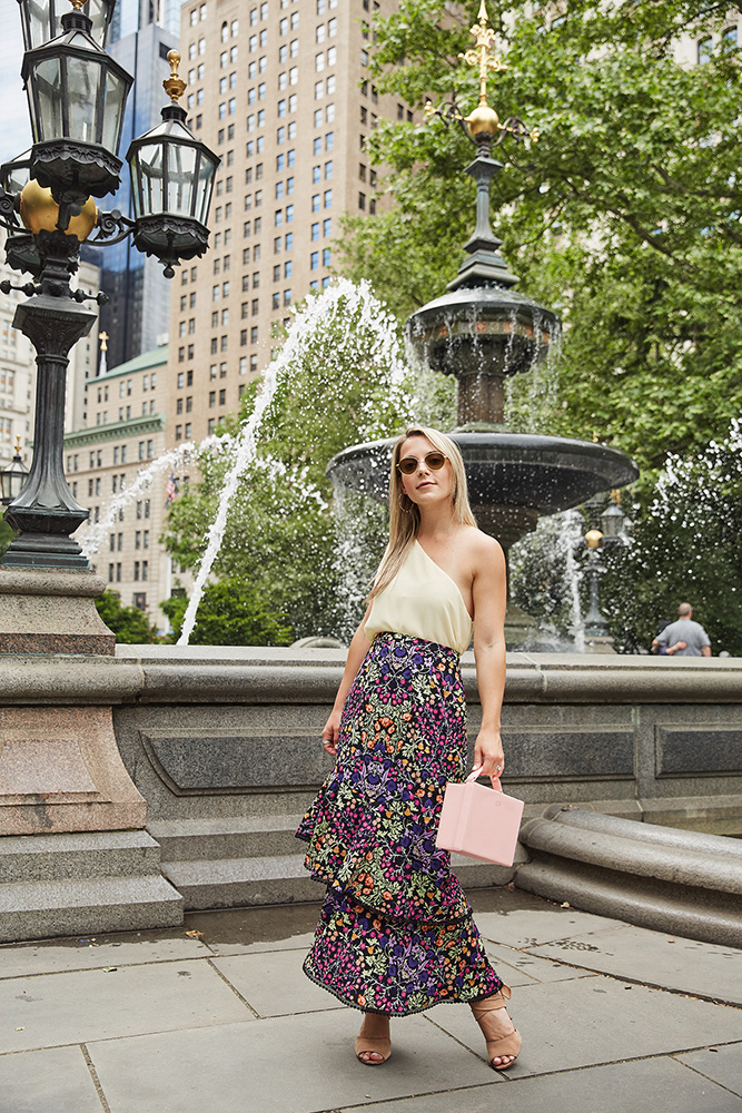 ruffle-skirt-asymmetrical-blouse